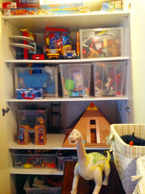 Boys Room Storage - My Dear Irene
