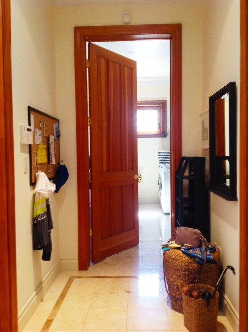 Small Entryway, After - www.mydearirene