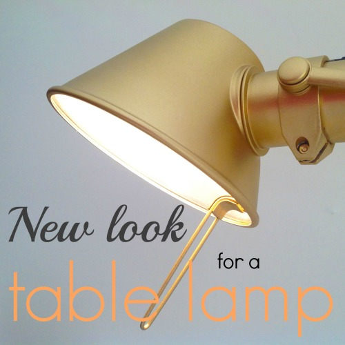 A New Look For A Table Lamp - mydearirene