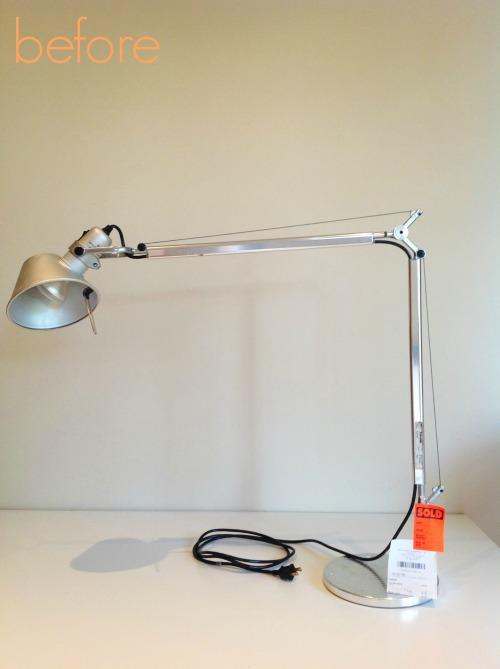 Tabe Lamp Before - mydearirene