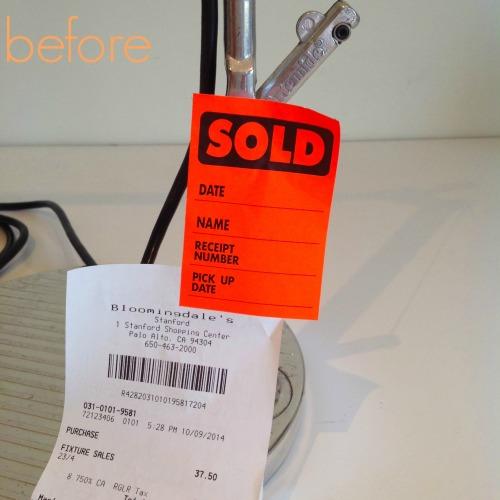 Table Lamp Sold - mydearirene
