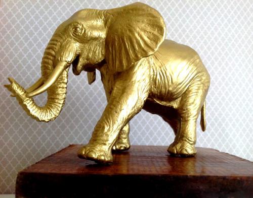 Bronze Elephant - mydearirene