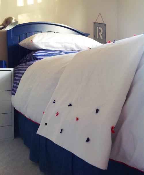 Coverlet In The Boy's Room - mydearirene