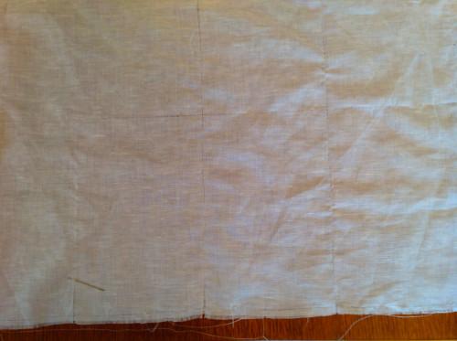 Cutting Linen Fabric I - mydearirene