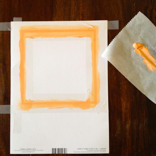 Painting Matboard - mydearirene