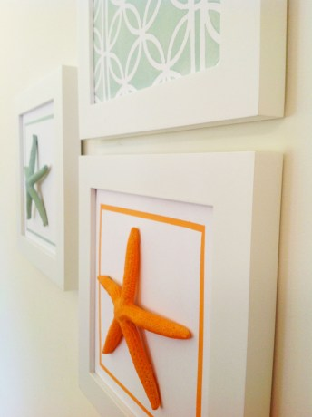 Ethan Allen Inspired Starfish Wall Art