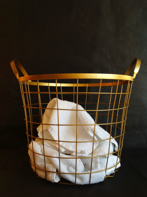 Towels In Basket - mydearirene