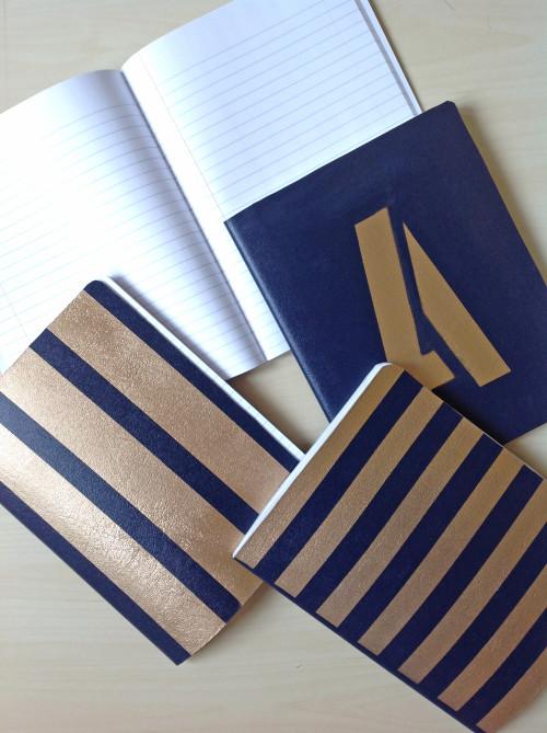 Blue Notebooks - mydearirene.com