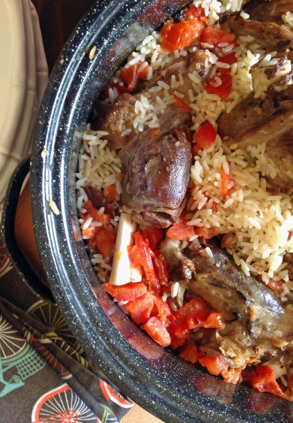 Oven Delicious Lamb Shanks With Rice