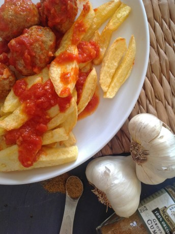Greek Meatballs With Garlic & Cumin In Tomato Sauce – A Lighter Recipe