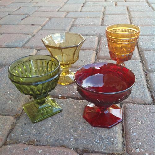 Pedestal Glasses - mydearirene.com