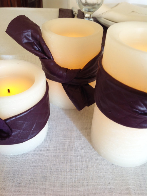 Thanksgiving Candles - mydearirene.com
