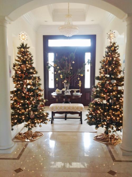Christmas Entrance -mydearirene.com