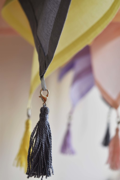 Napkin With Removable Tassel Detail - mydearirene.com
