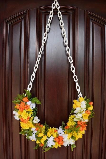 Half Spring Wreath For A Full Spring  Mood