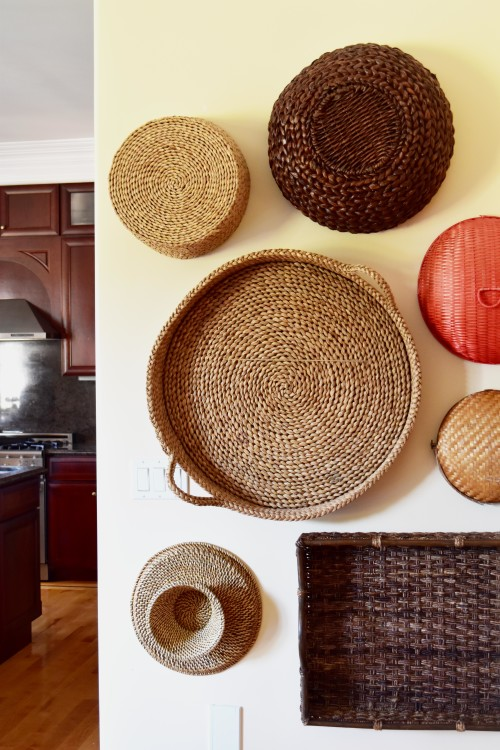 Wall Of Baskets Kitchen - mydearirene.com