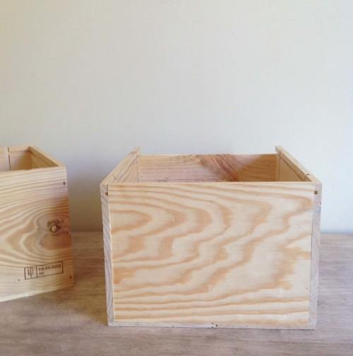 Basic Wooden Crate - mydearirene.com