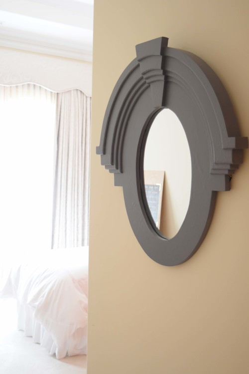 Mirror On Entry Wall - mydearirene.com