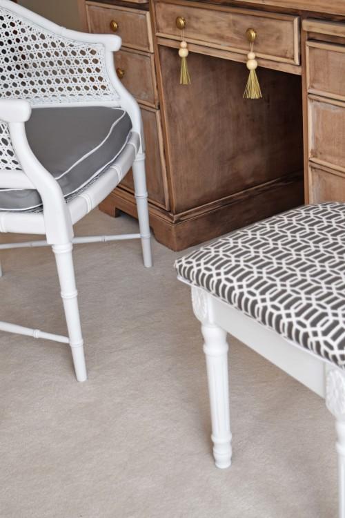 Armchair And Stool - mydearirene.com