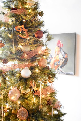 DIY Copper Mesh Garland For Your Christmas Tree