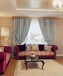 Blue And Purple Living Room Decor