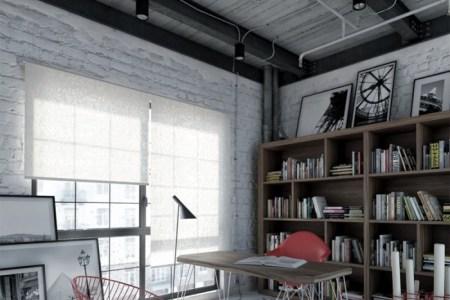 workspace decor industrial interior design