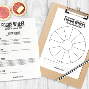 Abraham Hicks Focus Wheel
