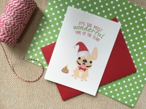Holiday cards my dog the sea french bulldog holiday card collection m4hsunfo