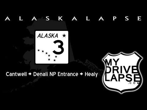 Alaska's Parks Highway: Cantwell, Denali NP, Healy