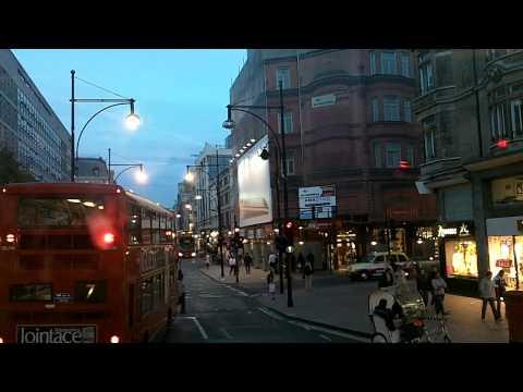 BusLapse: London's #10 Bus Kensington to Kings Cross