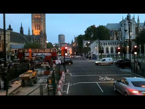 BusLapse: London's #24 from Trafalgar Square to Victoria