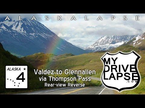 Valdez to Glennallen: Thompson Pass Rainbows!