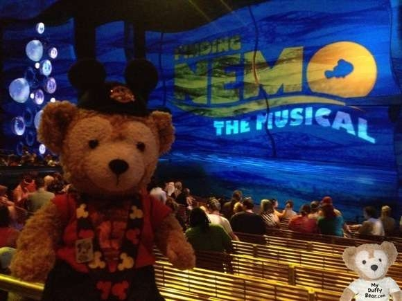Duffy the Disney Bear at Finding Nemo Animal Kingdom