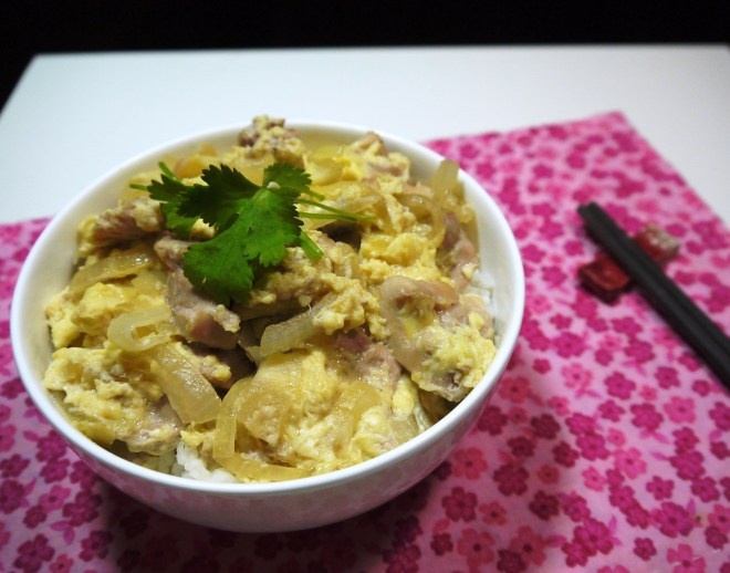 Japanese Chicken and Egg over rice