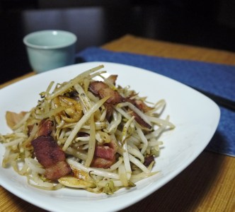 Easy Chinese Recipe - Stirfry Bean sprouts - final0
