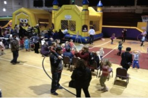The Bounce House at the 2013 Kid Stock. (Photo by Chad Emerson)