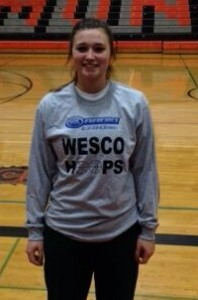 Sidney Eck earned Player of the Game honors from KRKO Radio Tuesday night.