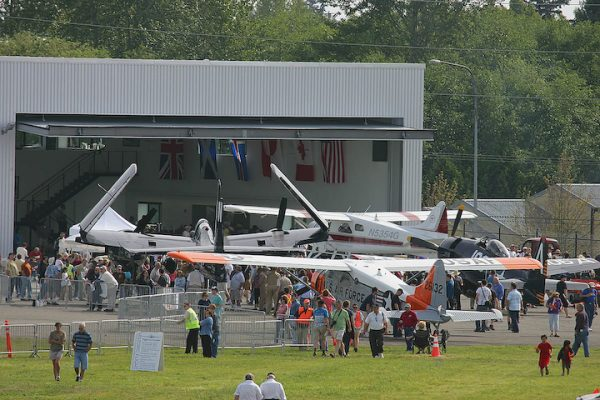 Paine Field Aviation Day planes at Historic Flight,