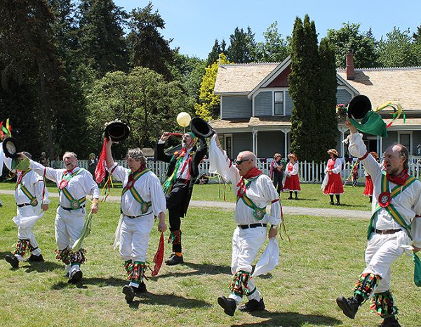 On event days, Stewart Farm is a lively place with dancing, music and more.