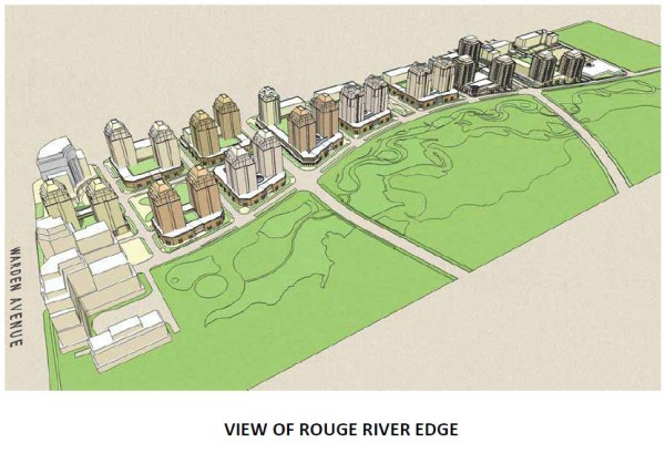 Uptown Markham - View of Rouge River Edge