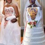 Wedding Cakes to make you Giggle (or gasp)