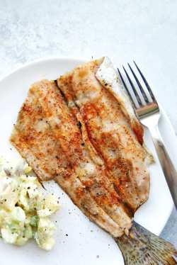 Genuine Grilled Lake Trout My Everyday Table Grilled Steelhead Trout Recipes Grilled Trout Recipes Lemon Butter