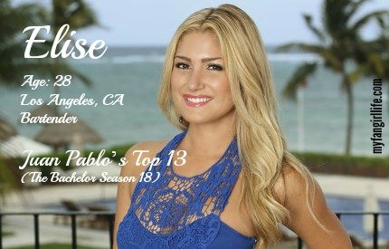 EDIT - Elise (Bachelor In Paradise)