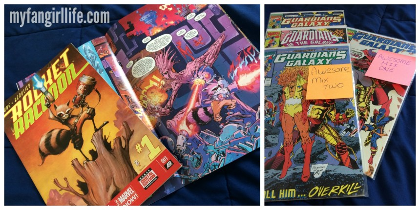 Guardians of the Galaxy Comics (Care Package)