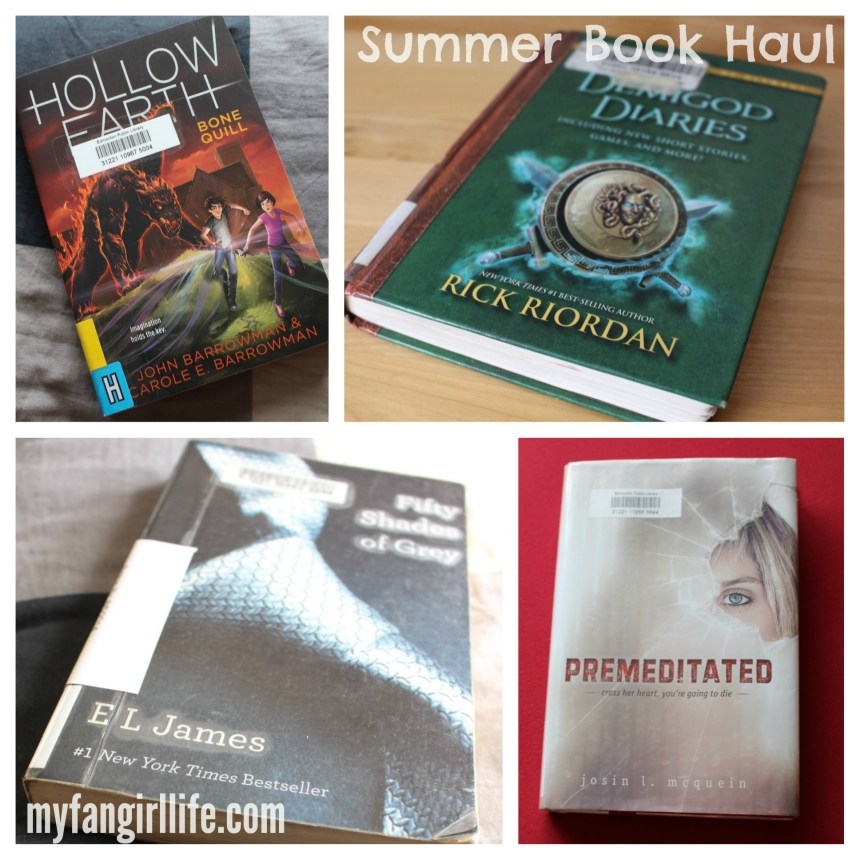 Summer Book Haul - Library