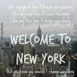Taylor Swift 1989 Lyrics - Welcome to New York 3