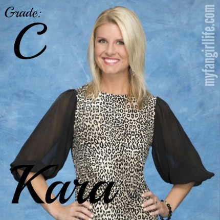 Bachelor Chris Contestant Kara
