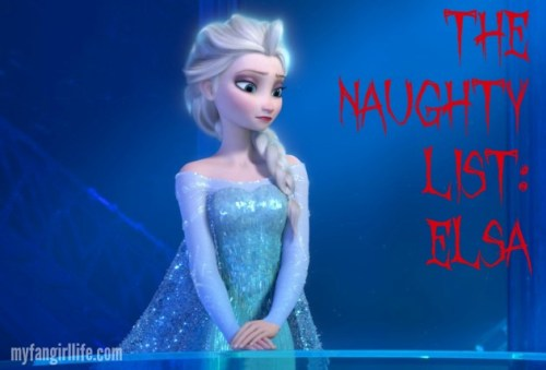 Elsa the Naughty List 2014