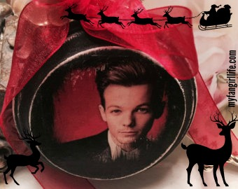Louis Tomlinson Ornament Christmas
