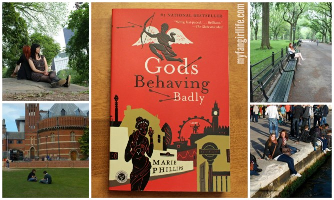 Gods Behaving Badly Marie Phillips book